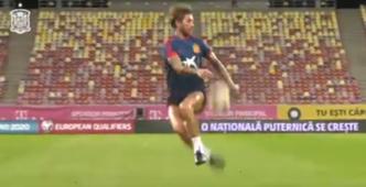 Sergio Ramos Spain training 2019