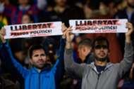 Pancartas Camp Nou Barcelona Sevilla