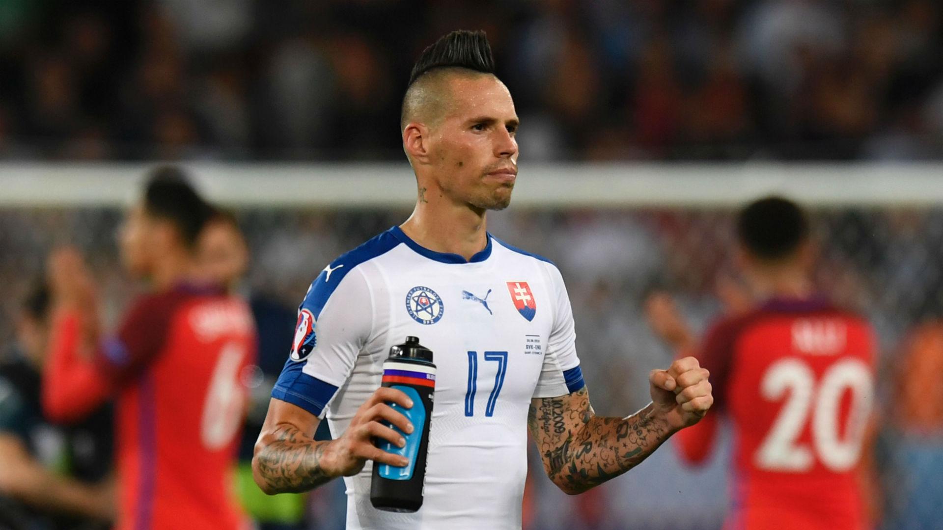 euro 2016 - marek hamsik - england slovakia - 20062016