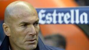 Zinedine Zidane Deportivo Coruna Real Madrid LaLiga 26042017