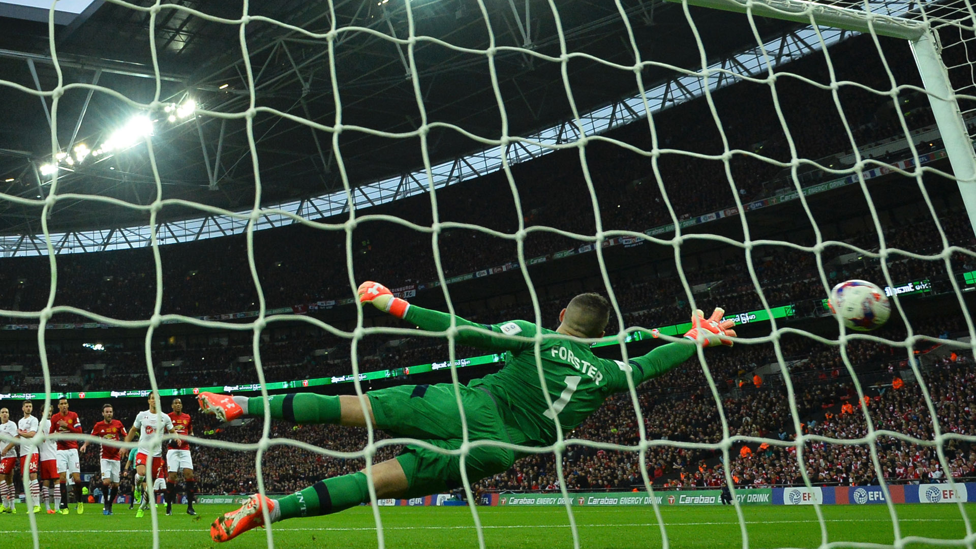 Fraser Forster Southampton League Cup