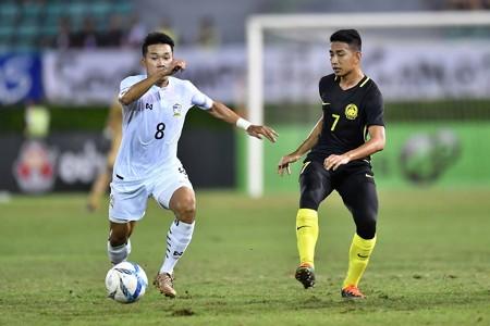 Nopphon Phonkam, Thailand U23, Amirul Hisyam Awang Kechik, Malaysia U23, U23 AFC Championship qualifiers, 21072017