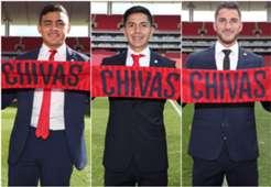 Alexis Vega Dieter Villalpando Hiram Mier Chivas 111218