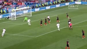 Harry kane Subasic Inglaterra Croacia Copa del Mundo 2018