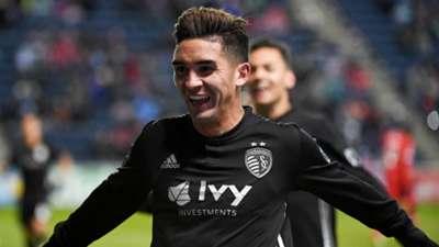 Felipe Gutierrez Sporting Kansas City MLS