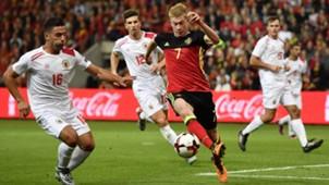 Kevin De Bruyne Belgium Gibraltar
