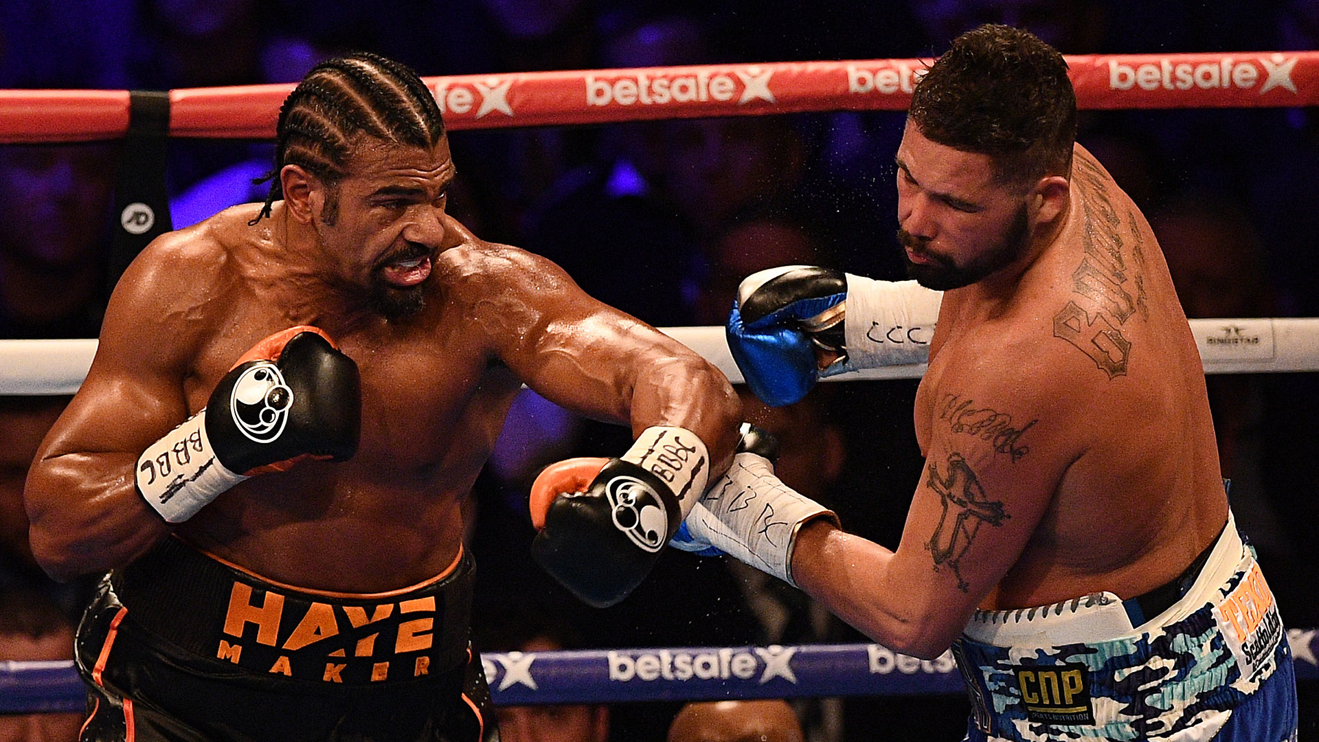 Tony Bellew David Haye