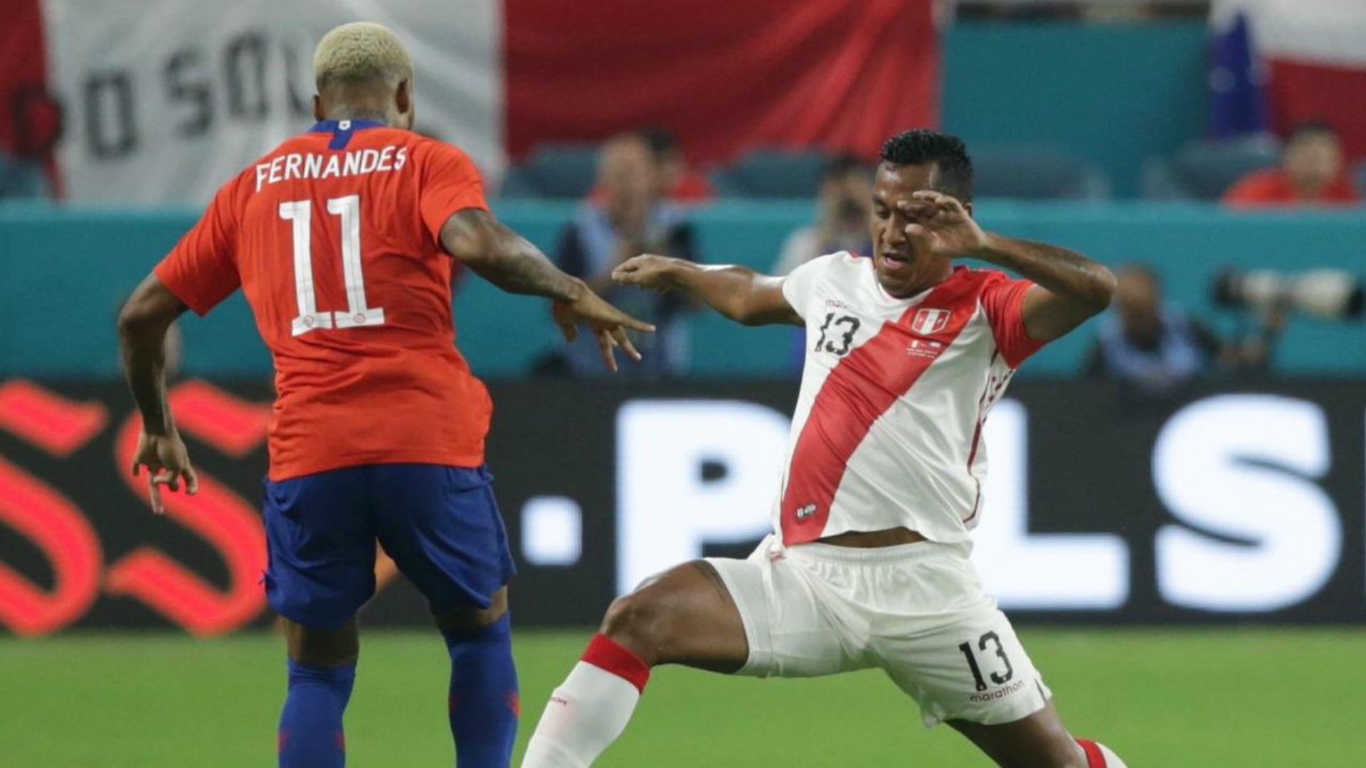 Junior Fernandes - Perú