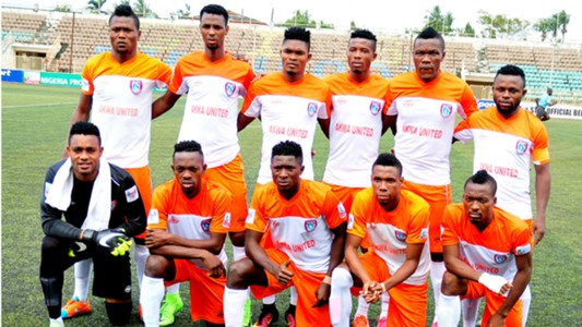Akwa United line up