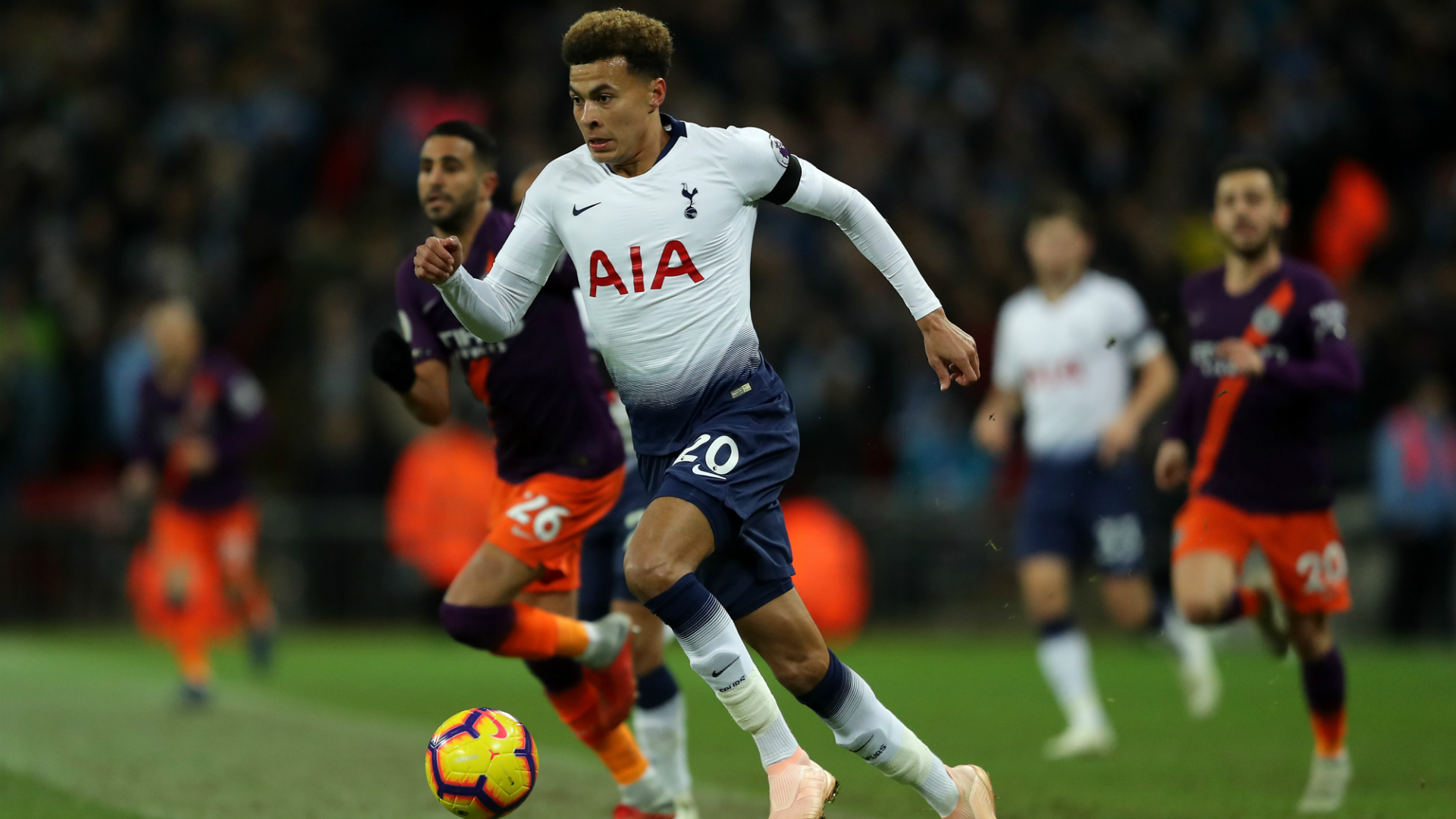 Dele Alli Tottenham Hotspur Premier League 10292018