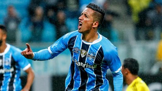 Lucas Barrios Gremio Ponte Preta Brasileirao Serie A 16072017