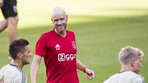 Erik ten Hag, Ajax, 08062018