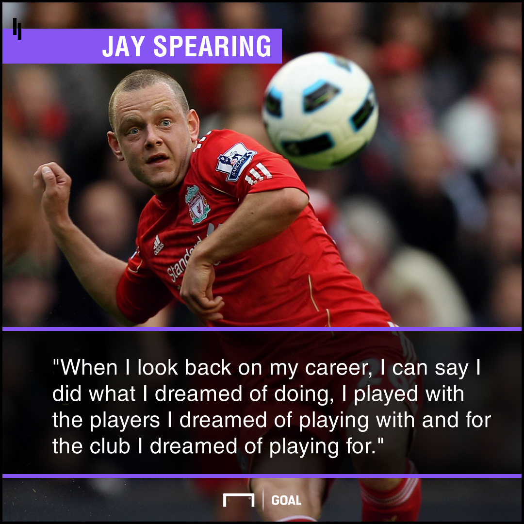 Jay Spearing Liverpool PS