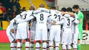Besiktas line up vs Kayserispor 12102017