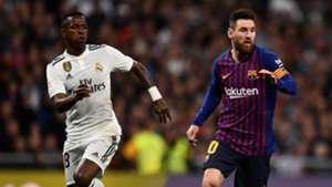 Vinicius Lionel Messi Real Madrid Barcelona Copa del Rey 27022019