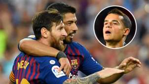Lionel Messi Luis Suarez Philippe Coutinho Barcelona GFX