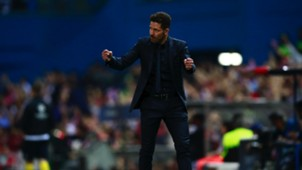 Diego Simeone Atletico Madrid Leicester City UCL 12042017