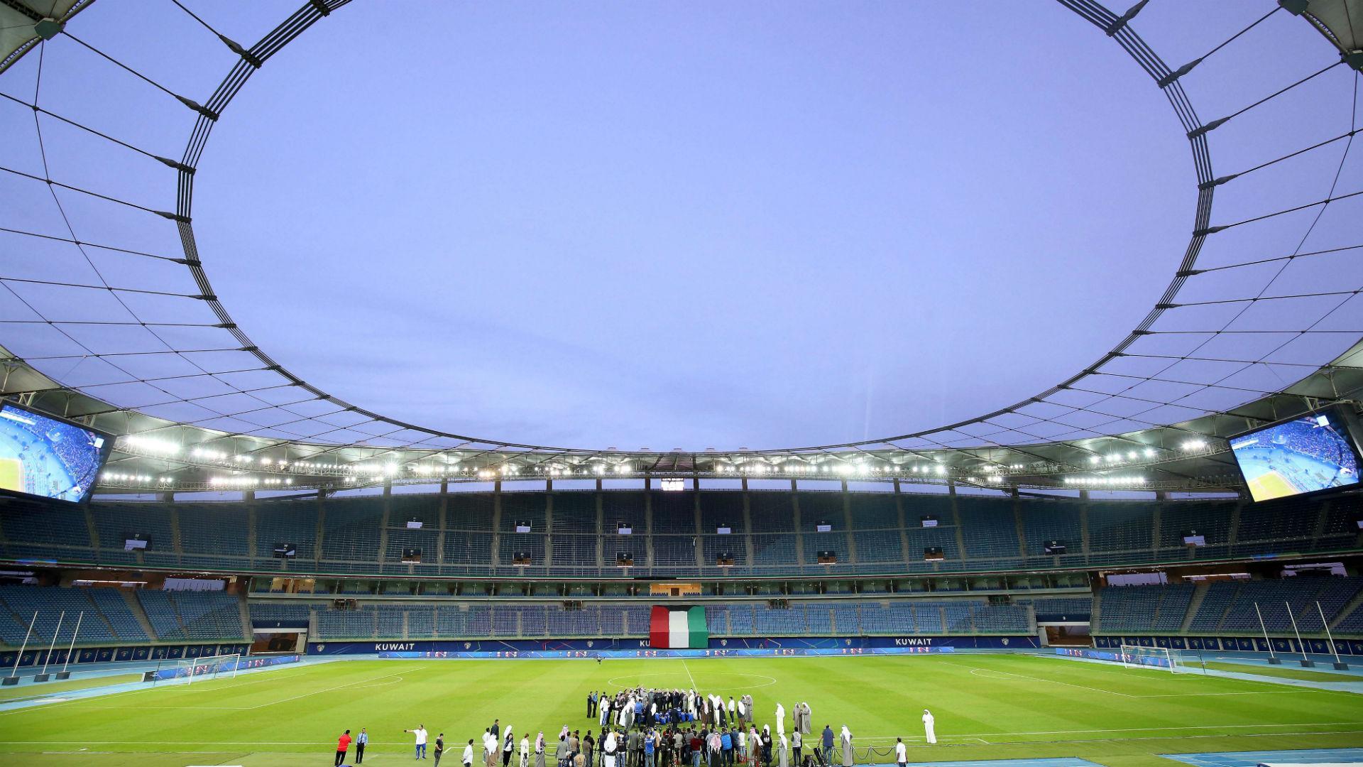 Jaber al-Ahmad International Stadium Kuwait general view