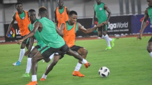 Super Eagles B training