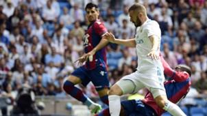Karim benzema Real Madrid Levante LaLiga