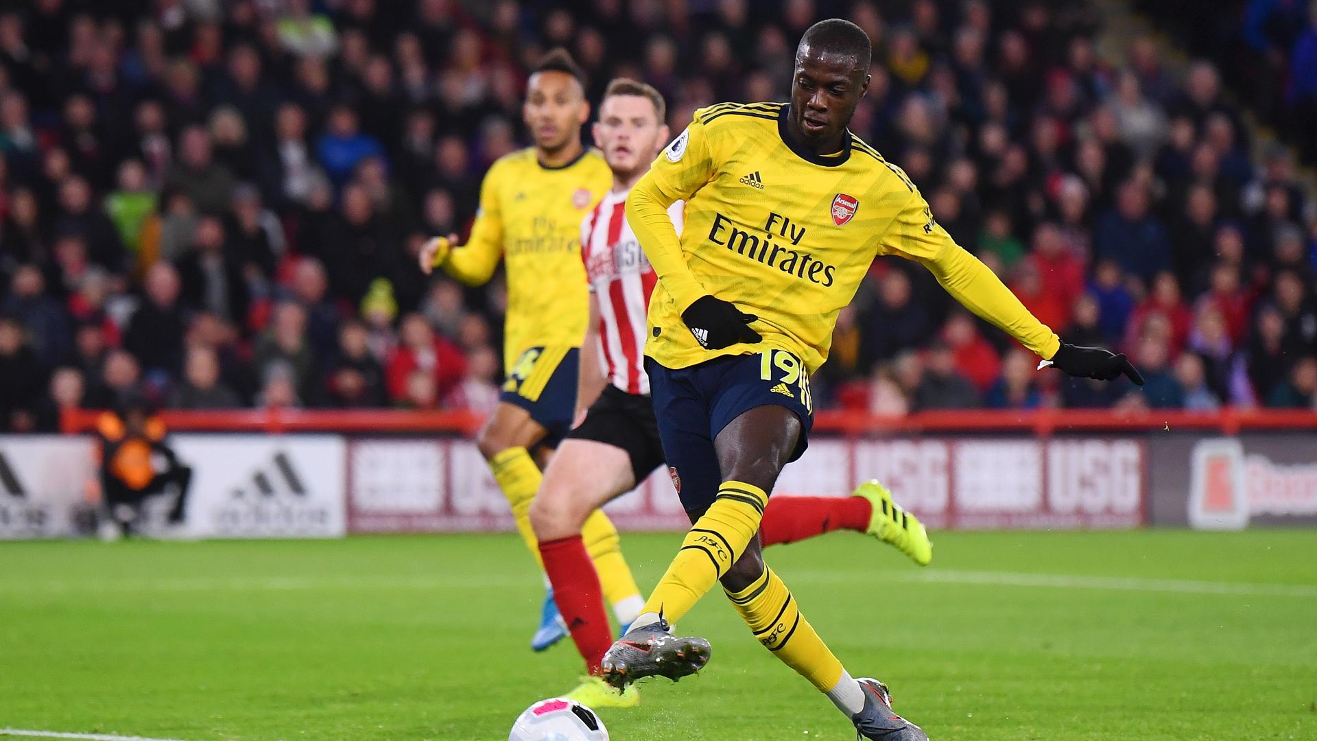 Nicolas Pepe, Arsenal miss vs Sheffield Utd
