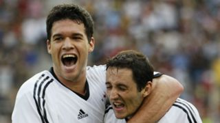 Michael Ballack Oliver Neuville Germany 2002 World Cup