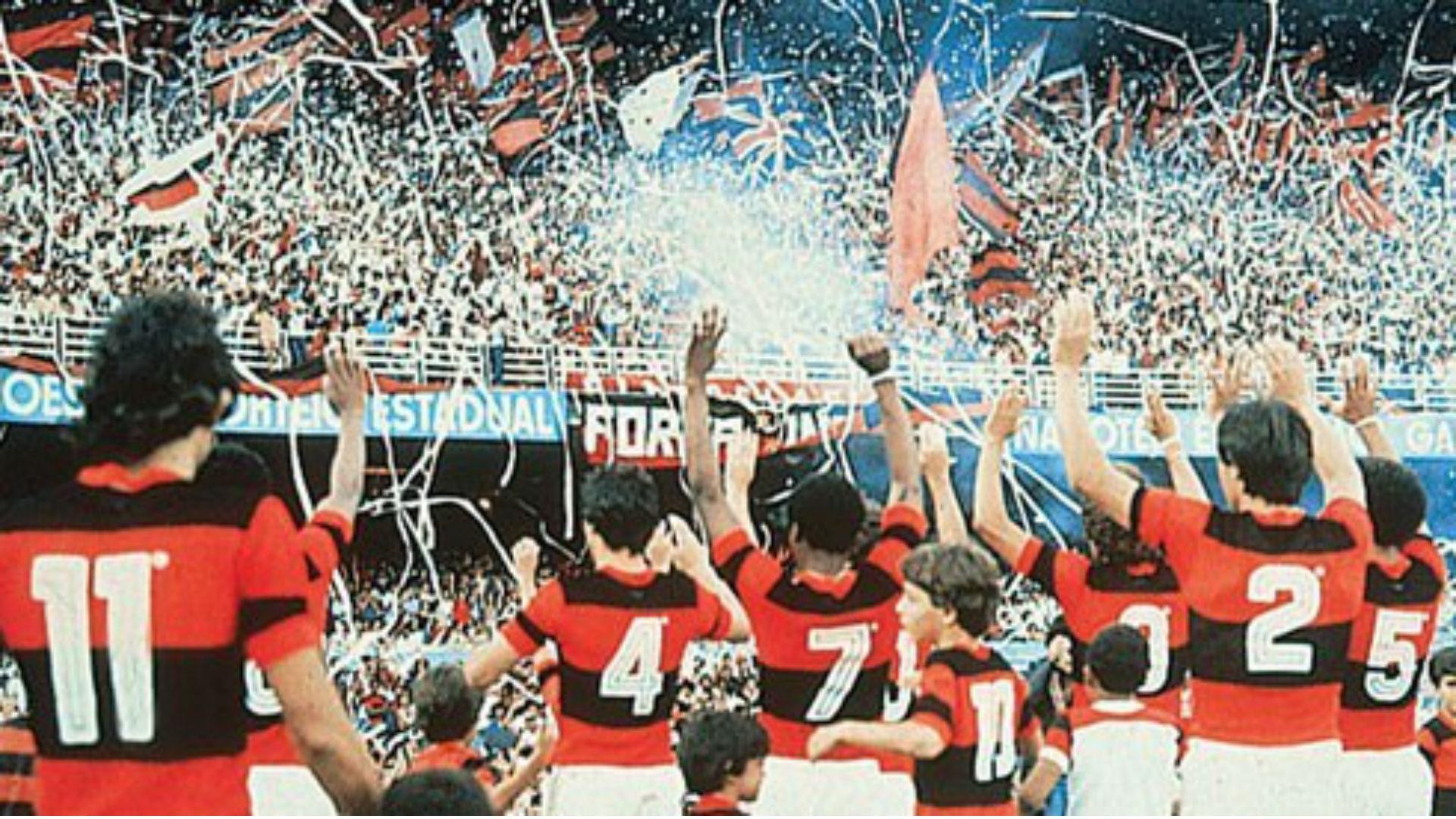 Flamengo Santos 1983 Brasileirão  12 04 2018