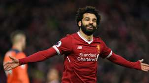Mohamed Salah Liverpool v Southampton