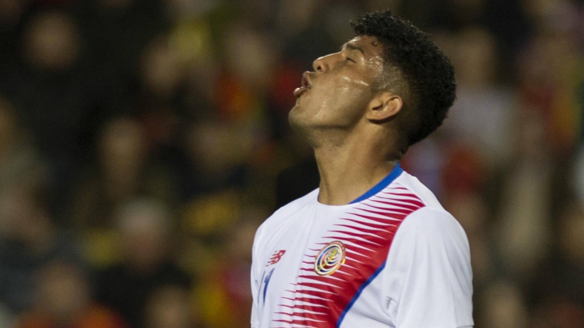 Johan Venegas Spain Costa Rica Friendly