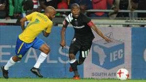 Oupa Manyisa and Thabo Matlaba - Orlando Pirates v Mamelodi Sundowns