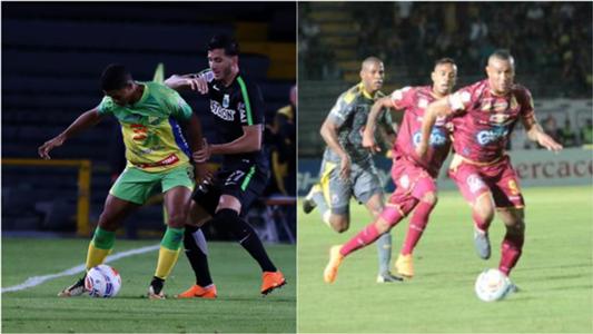 Semifinales liga Águila 2018-I mix