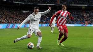 Lucas Vazquez Douglas Luis Real Madrid Girona Copa del Rey 24012019