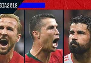 Siapakah pencetak gol terbanyak di Piala Dunia 2018 sejauh ini?