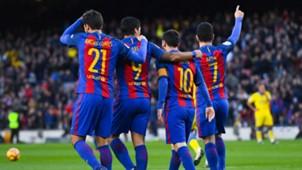 Barcelona Messi Turan Gomes Suarez 14012017