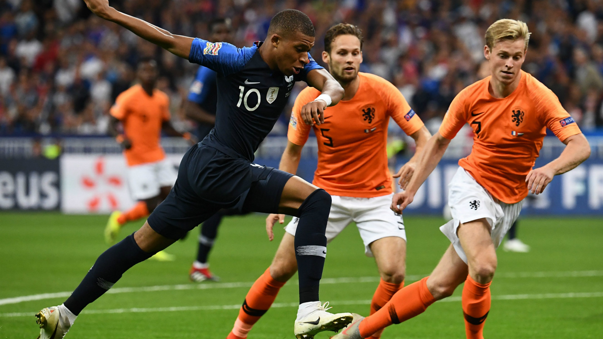 Kylian Mbappe France Netherlands 10092018