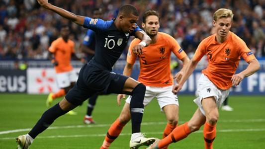 Kylian Mbappe France Netherlands 10092018