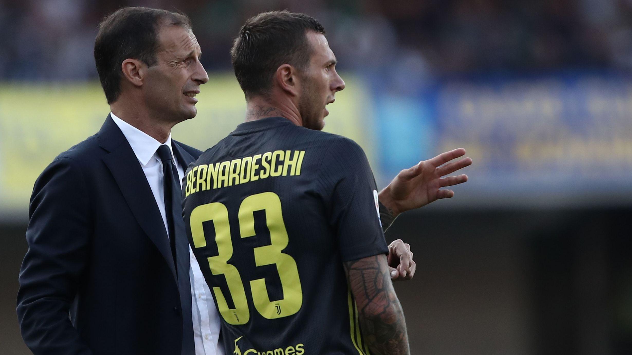Allegri Bernardeschi Chievo Juventus