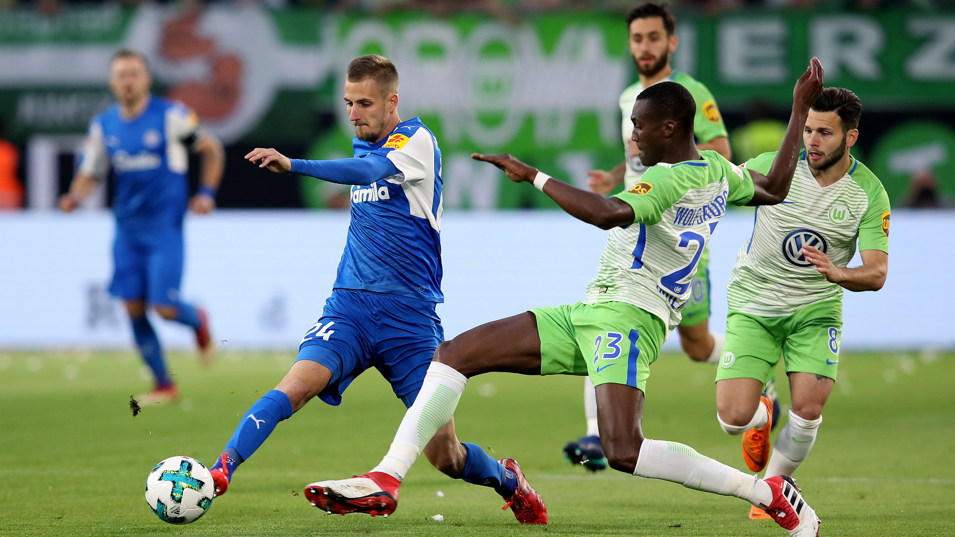 Drexler Guilavogui VfL Wolfsburg Holstein Kiel Relagation 17052018