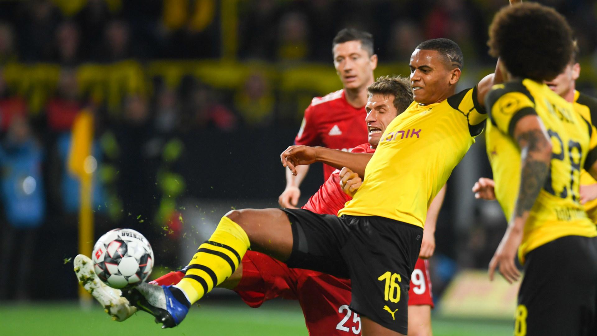 Manuel Akanji Dortmund Bayern 10112018