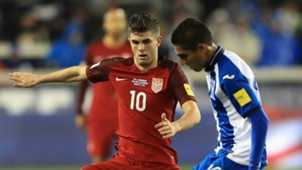Christian Pulisic USA; Mario Martinez Honduras