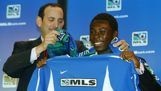 Freddy Adu MLS draft