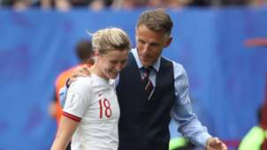 Ellen White Phil Neville England women