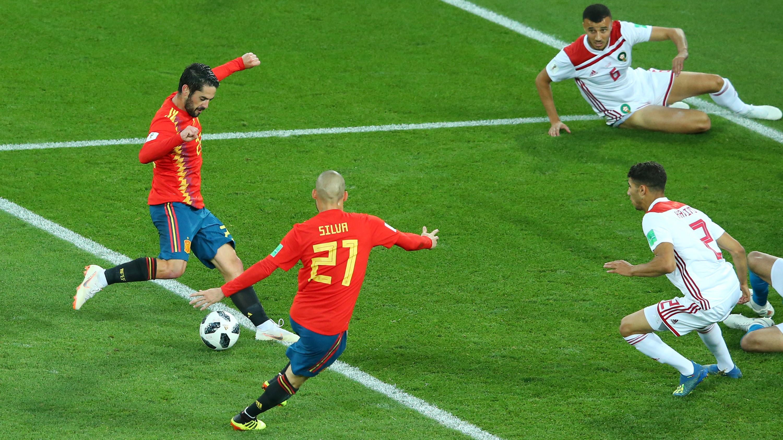 Spain Vs Morocco Live Blog Text Commentary Line Ups Stream Tv Channel Goal Com