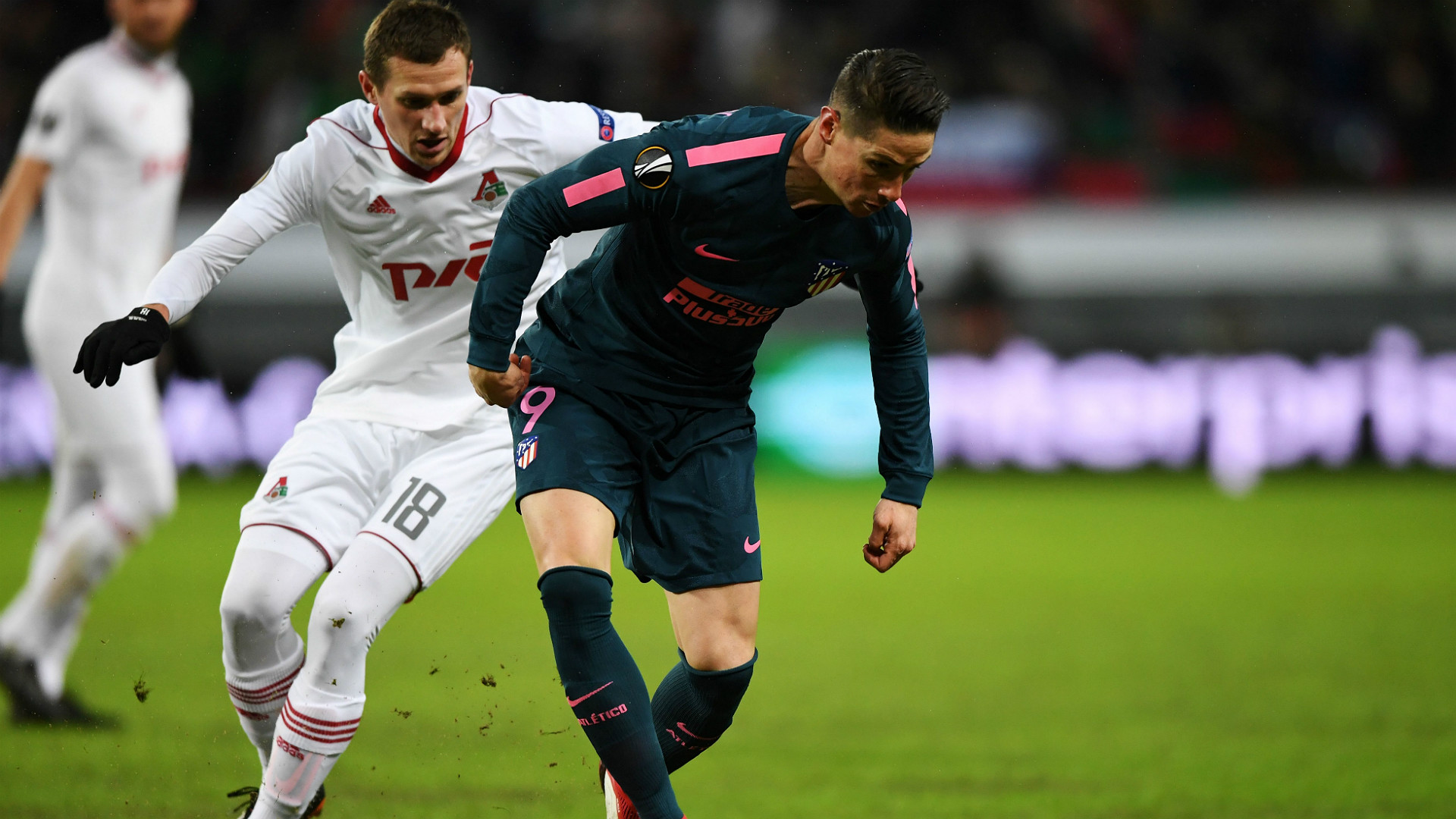 Fernando Torres Lokomotiv Moskova Atletico Madrid