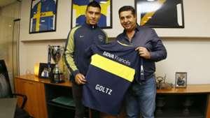 Paolo Goltz Boca Daniel Angelici 06072017