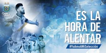 Banner Seleccion argentina