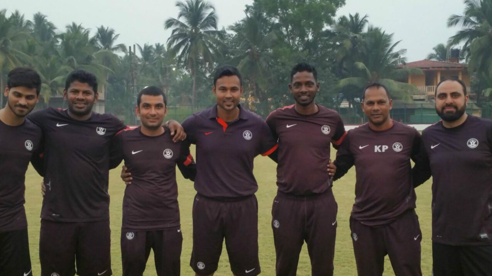 India U16 coaching staff