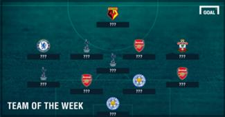 Premier League Team of the Week 06042017