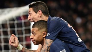 Angel di Maria Kylian Mbappe PSG Paris Saint-Germain 2018-19