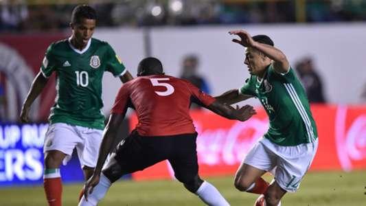 Giovani dos Santos Javier Hernandez Chicharito Mexico